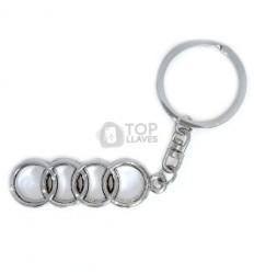 Llavero Audi metal