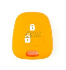Funda silicona Citroen/Peugeot dos botones