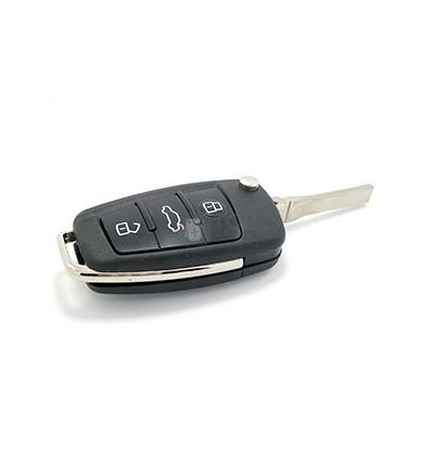 Carcasa para Audi con tres botones.