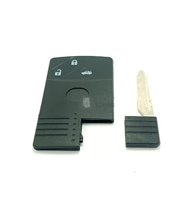 Carcasa tarjeta para Mazda con tres botones.